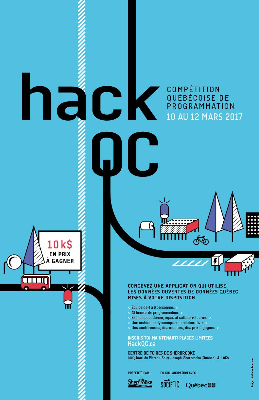 Affiche du HackQC 2018